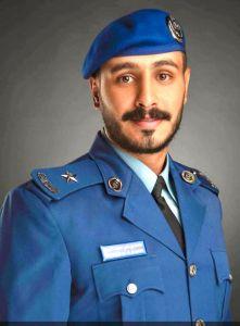 """تخرّج """"القرني"""" برتبة ملازم في القوات الجوية"""
