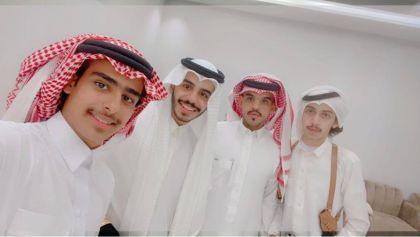 الاستاذ فيصل سعدالزهراني يحتفل بعقد قران ابنه سعد
